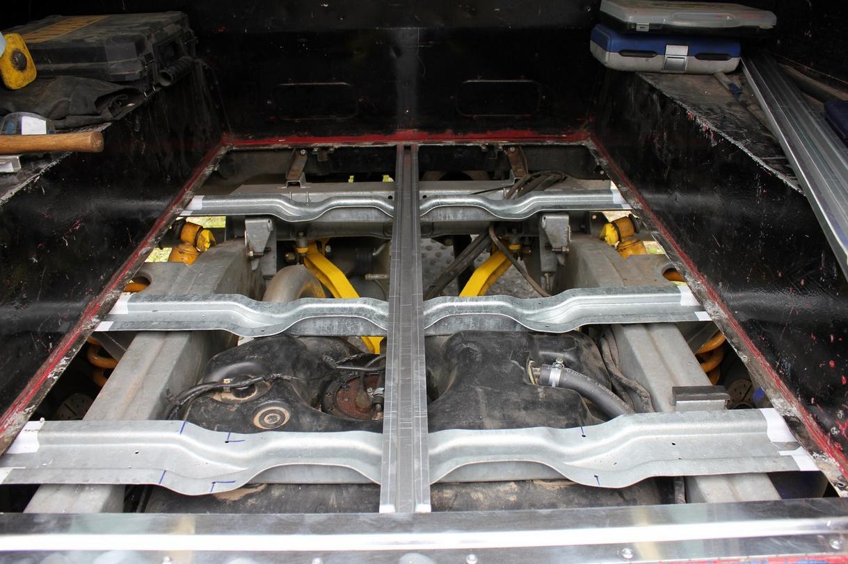Land Rover Defender 90 Amp Series Swb Rear Tub Floor