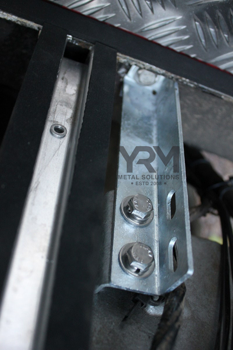 Seatbelt To Chassis Bracket Hdg Yrm Metal Solutions