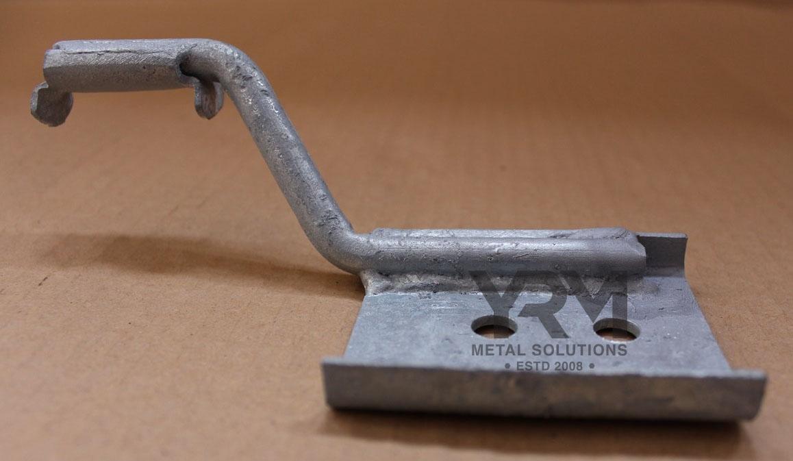 300tdi Centre Exhaust Bracket Hdg Yrm Metal Solutions