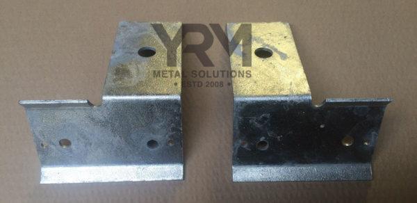 Rear Axle Brake Pipe Bracket Hdg Yrm Metal Solutions