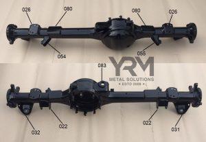 YRM Rear Axle Diagram