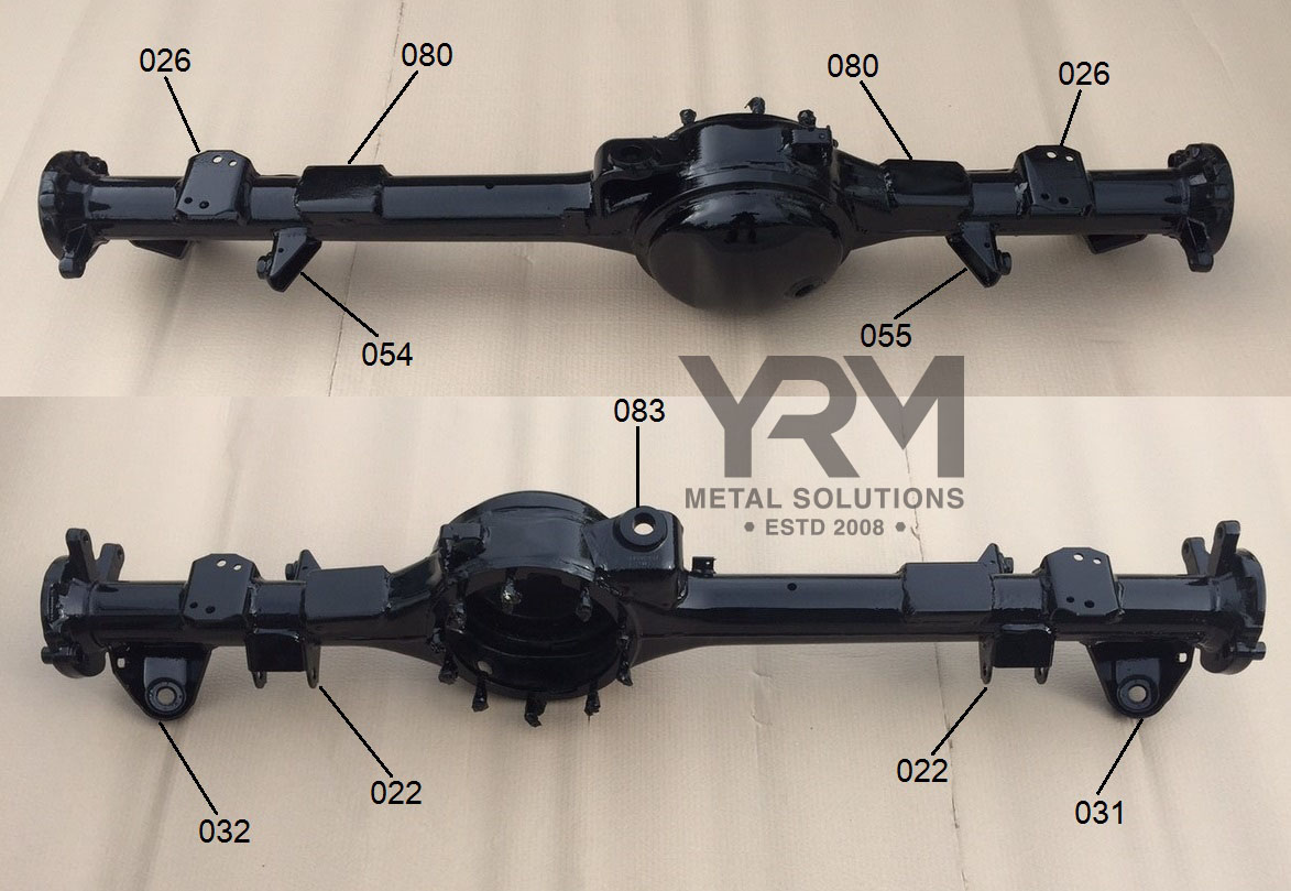 Rhs Rear Axle Shocker Mounting Point Bracket Yrm Metal