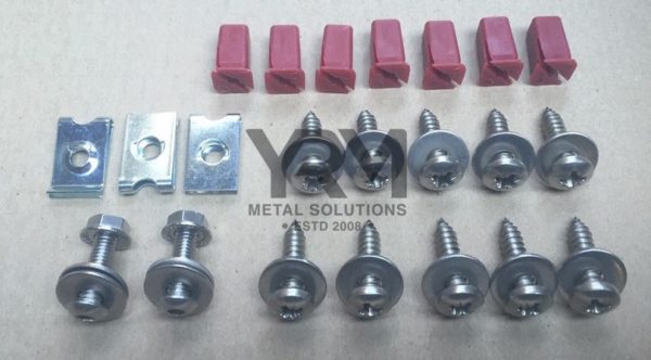 Front Footwell Floor Plate Fixing Kit Yrm Metal Solutions