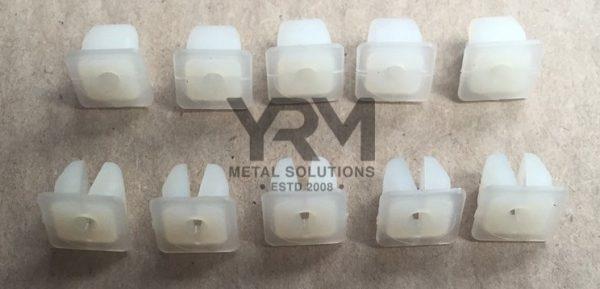 Mwc1950 Pk 10 Plastic Captive Lock Nut No6 Yrm Metal