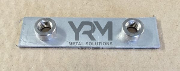 2nd Row Amp Rear Door Hinge Nut Plate Yrm Metal Solutions