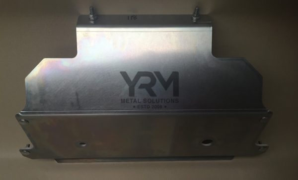 90 Fuel Tank Guard Cradle 6mm Aluminium Yrm Metal Solutions