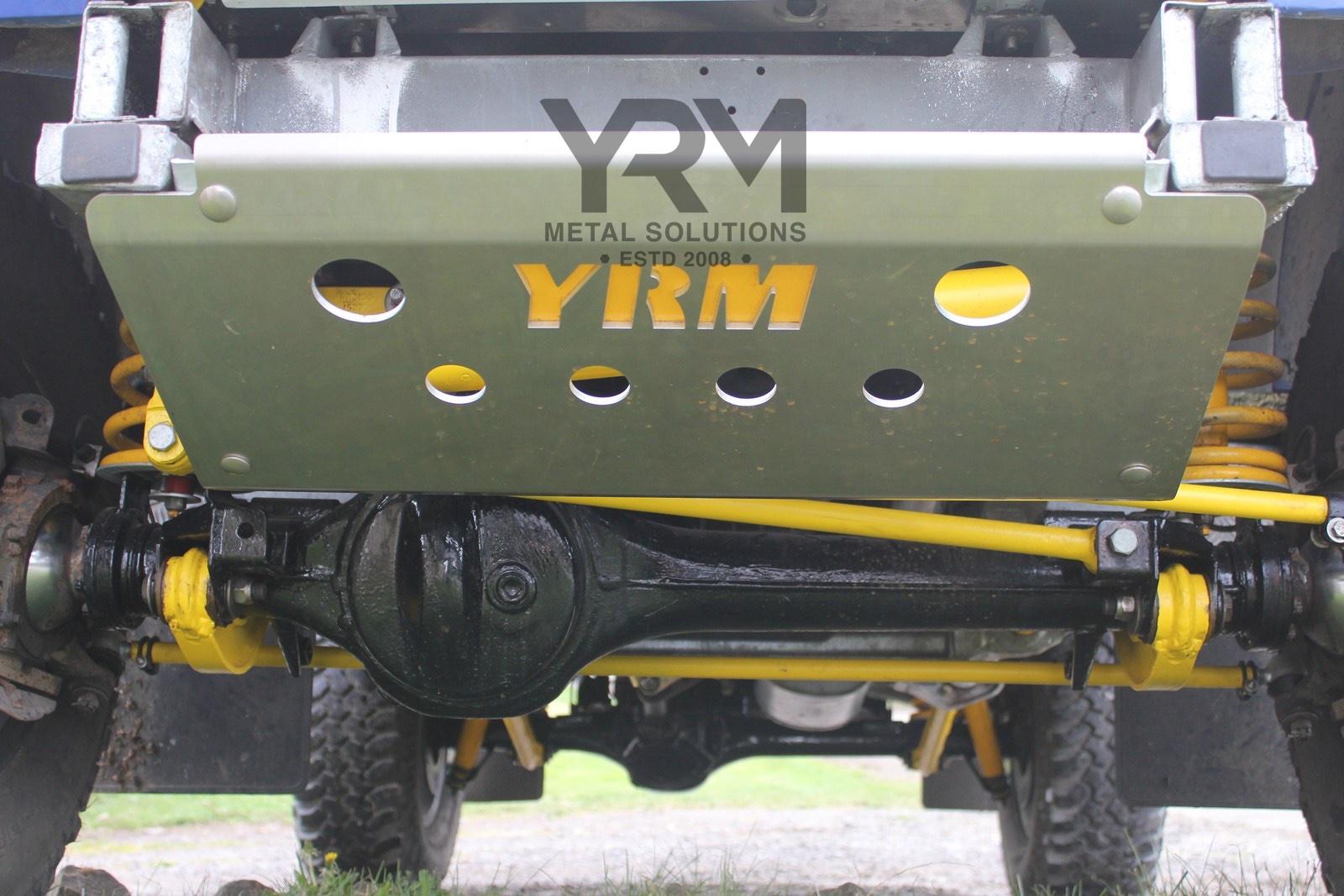 Yrm 6mm Aluminium Steering Sump Guard Yrm Metal Solutions