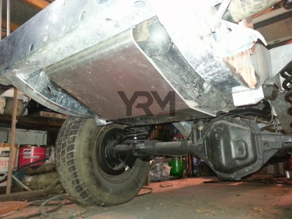 Fuel Tank Guard Cradle Yrm Metal Solutions