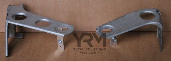 Lr Defender Hdg Upper Radiator Mounts Yrm Metal Solutions