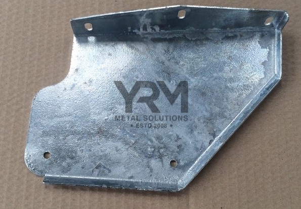 Rhs Front Mudflap Bracket Hdg Discovery 2 Yrm Metal