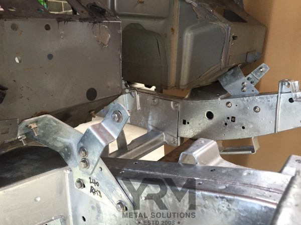 Hdg Bulkhead To Chassis Brackets Yrm Metal Solutions