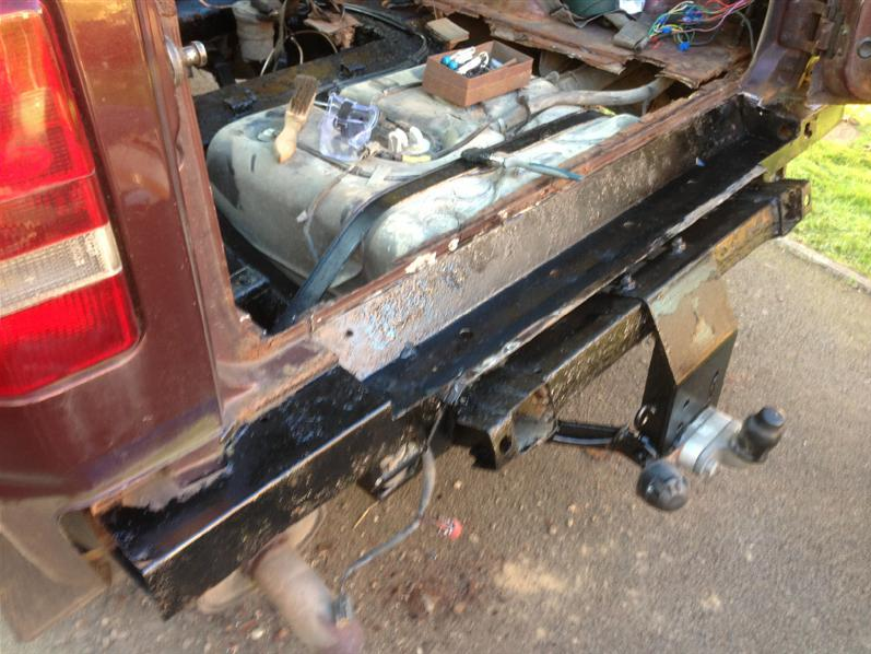 discovery 2 rear bumper removal