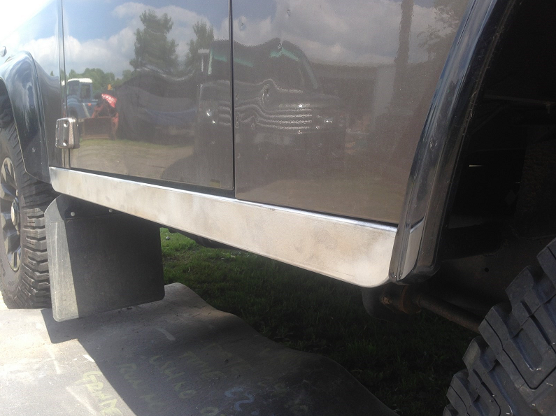 Land Rover Defender 90 Sill Panel Replacement