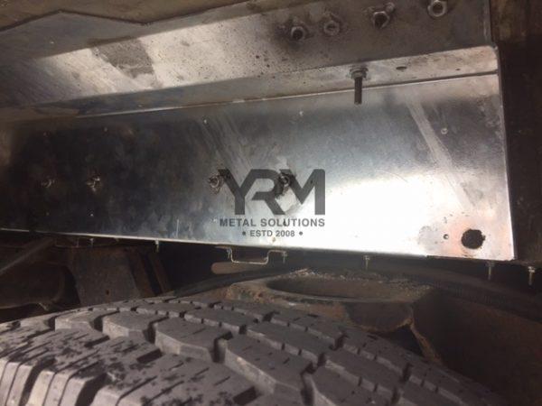 Hdg Rear Row Forward Facing Seat Subframe Yrm Metal