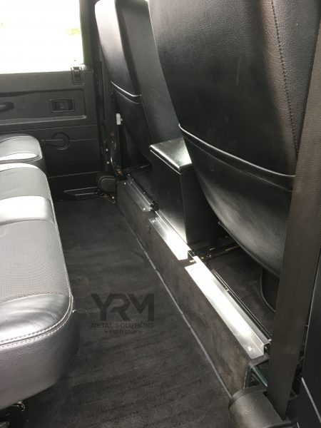 Centre Rear Of Seat Box Carpet Retainer Yrm Metal Solutions